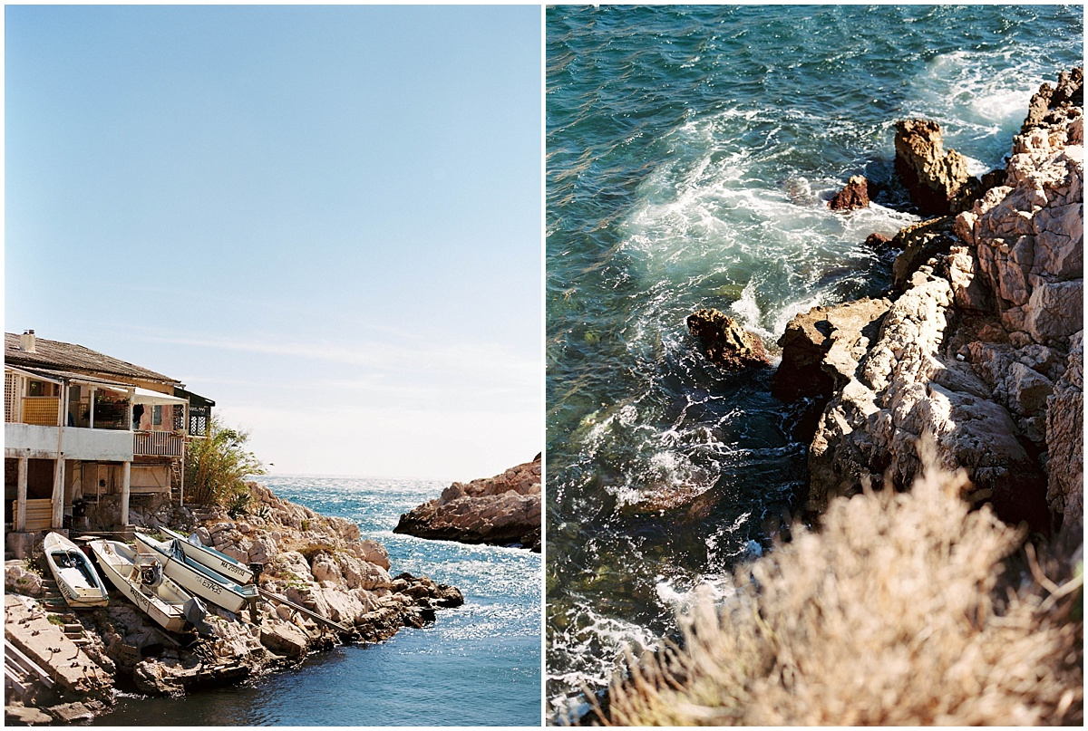 inspiration mariage calanque marseille cassis