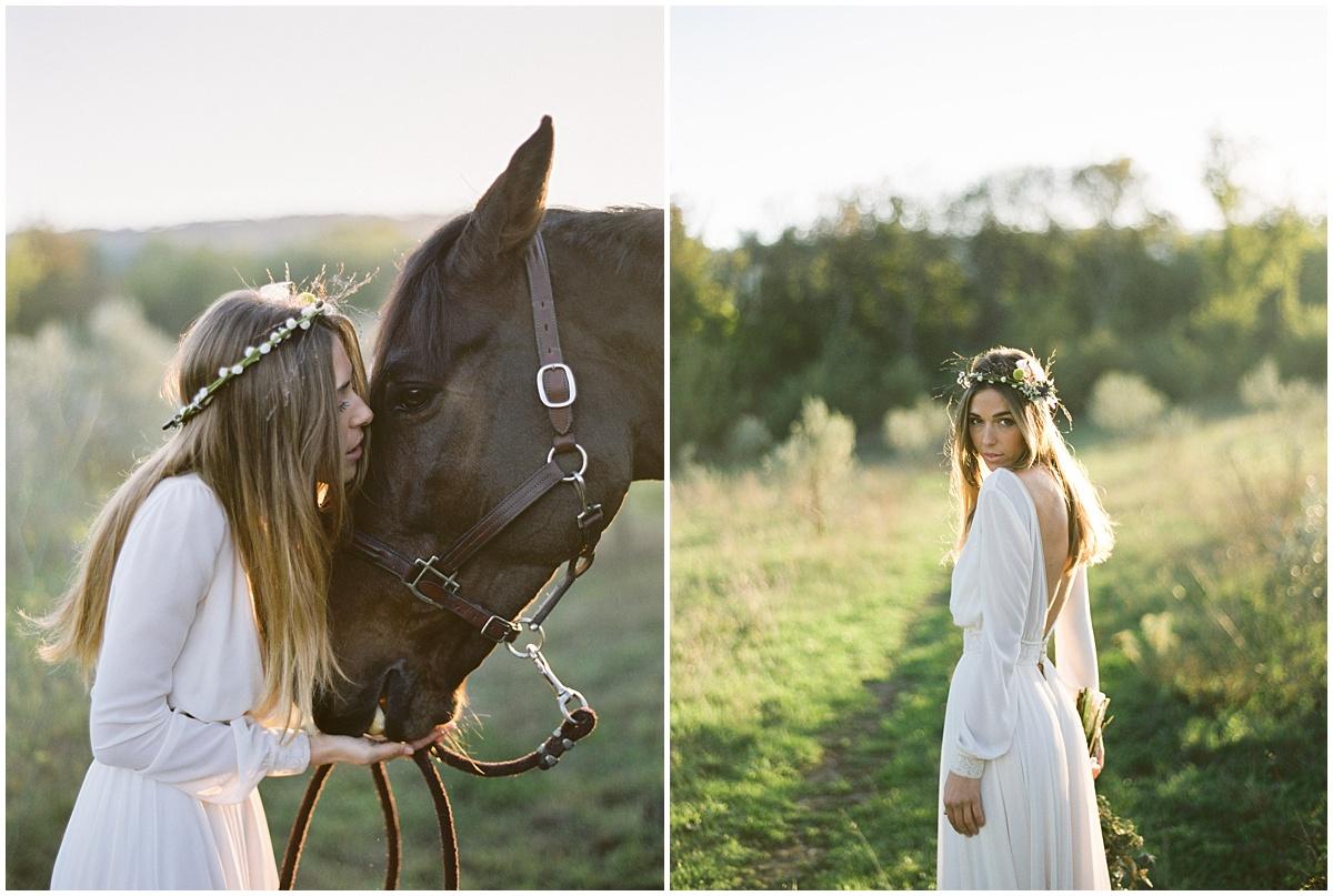 wedding editorial film shoot
