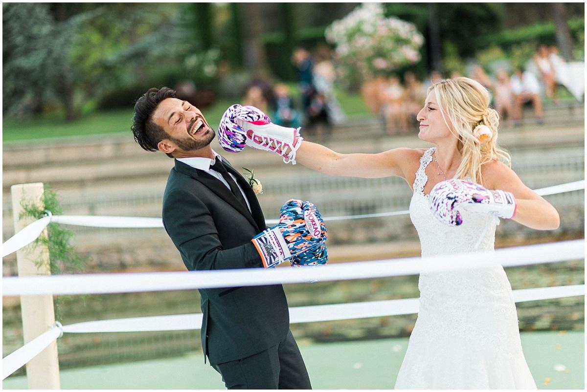 Photographe mariage provence chateau de berne