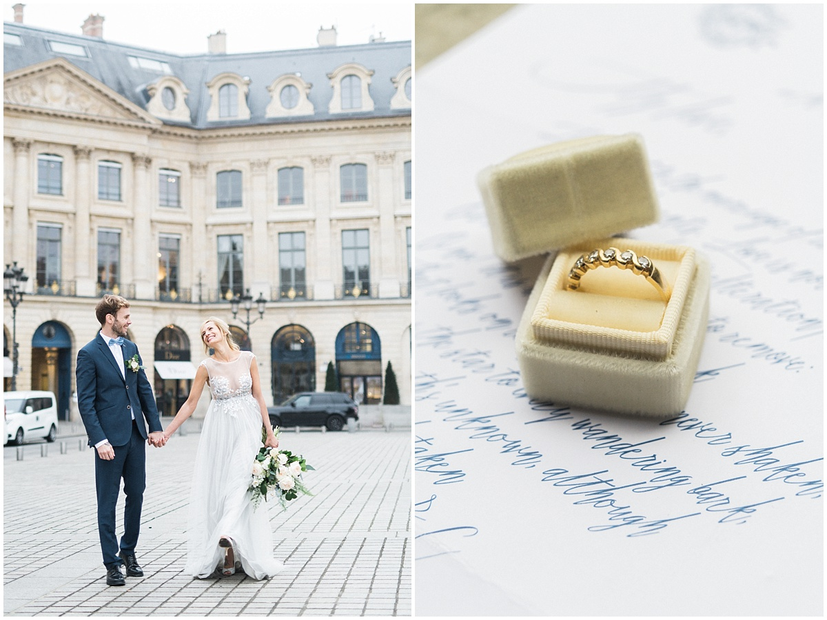 elopement paris Christophe Serrano french destination wedding photographer