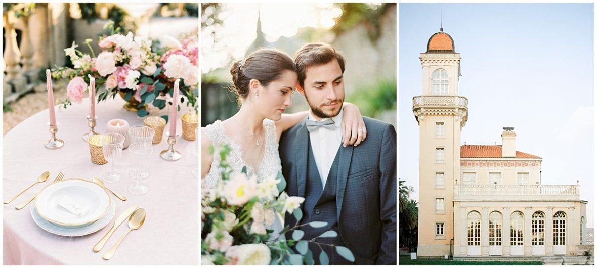 chateau saint georges mariage luxe cote d'azur photographe Christophe Serrano