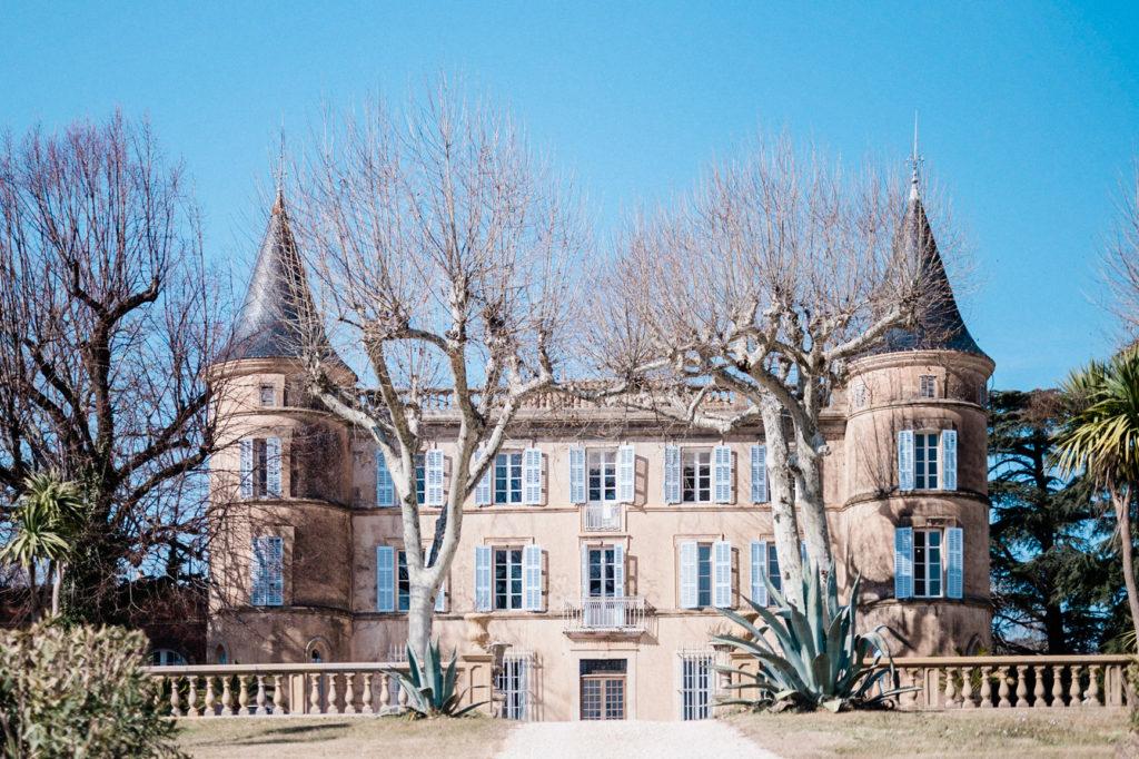 Chateau Robernier - French riviera wedding castel