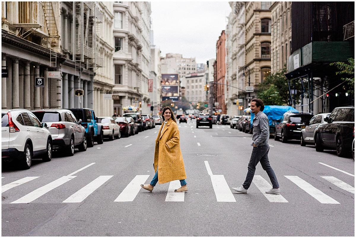 engagement photography New York Christophe Serrano wedding