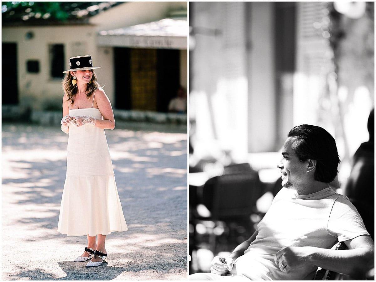 Saint paul de Vence wedding party american destination wedding Christophe Serrano photographer