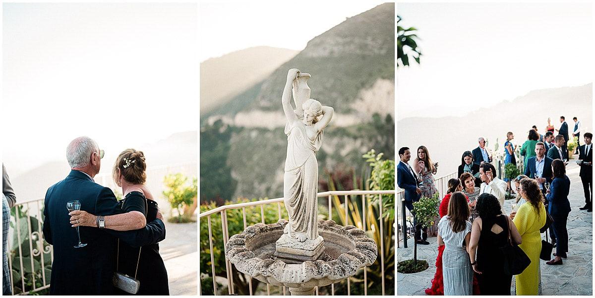EZE chèvre d'or Wedding Christophe Serrano fine art photographer