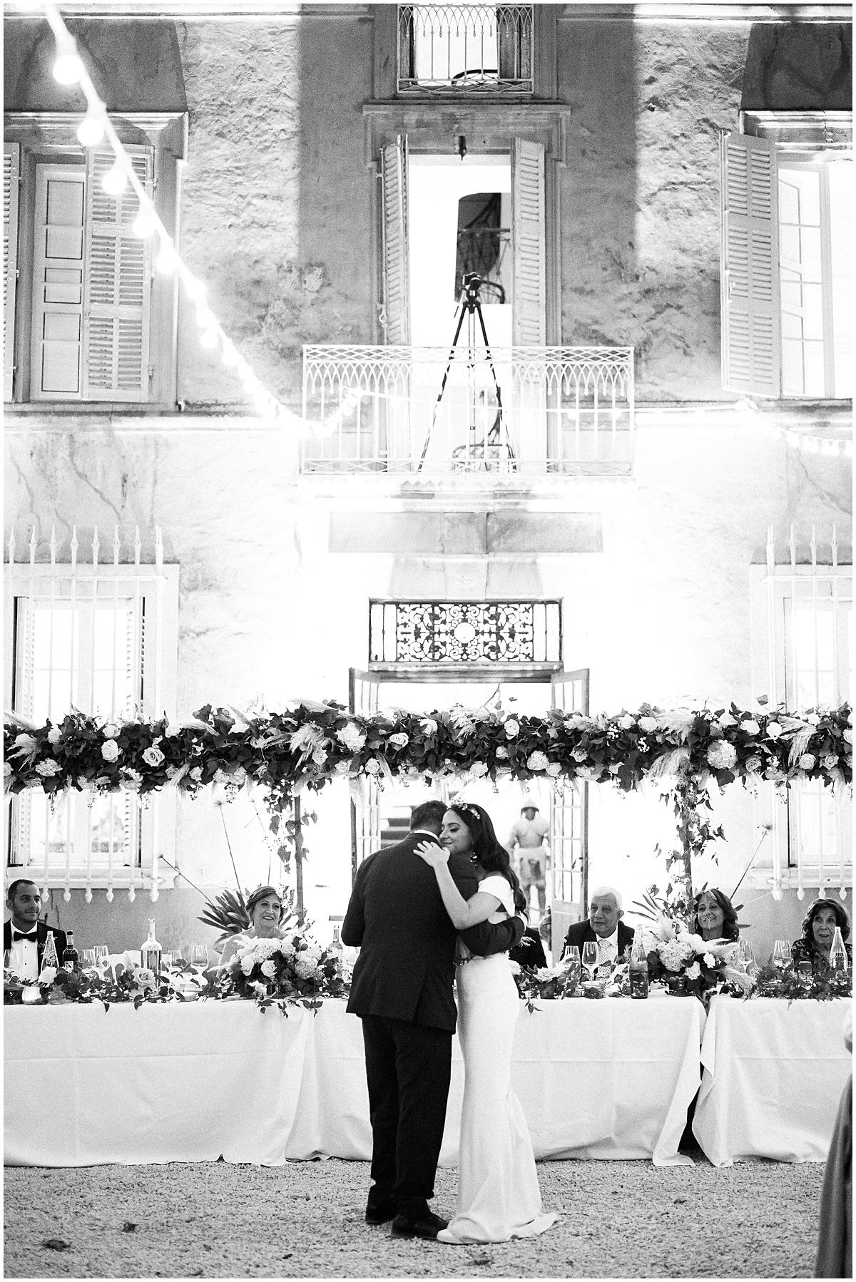 luxury coptic egyptian English wedding at Chateau robernier