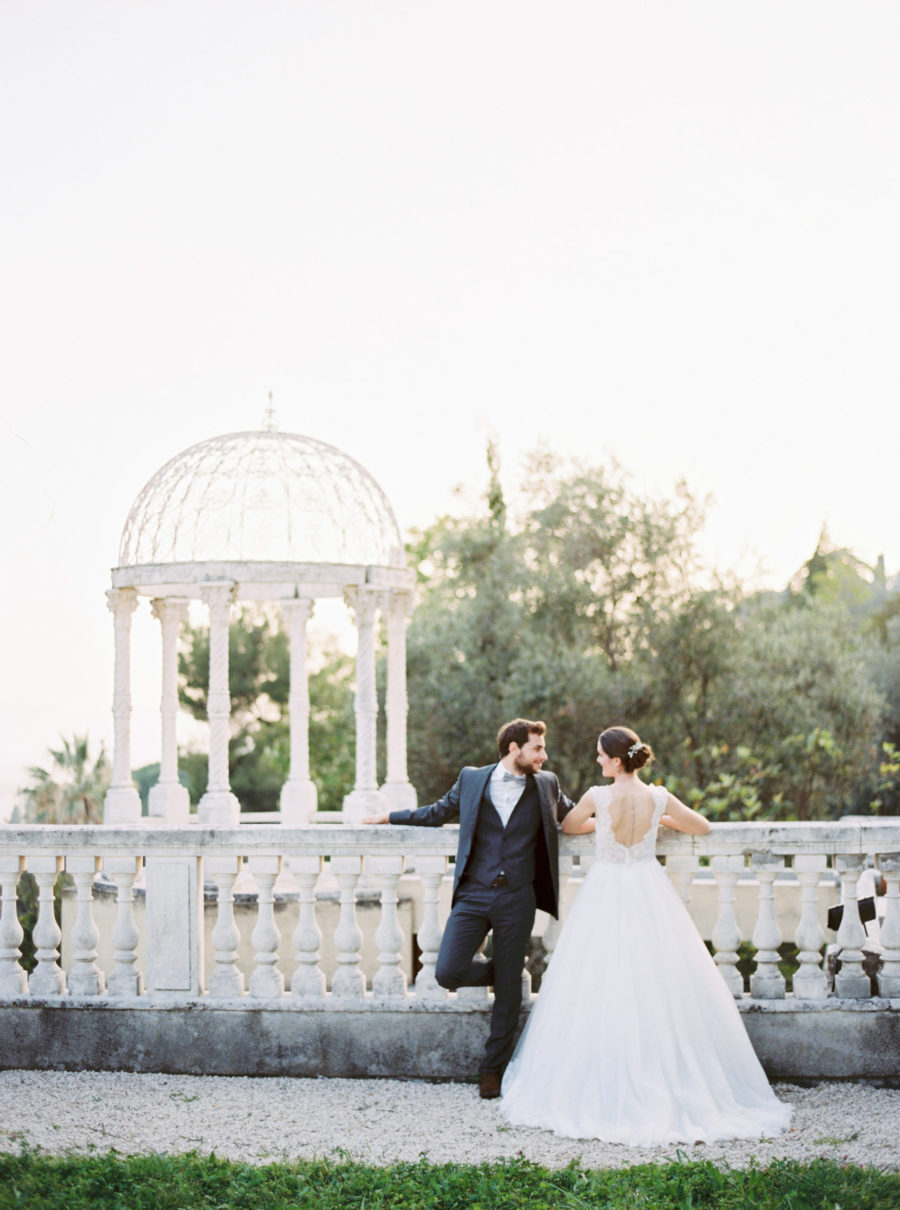 chateau saint georges wedding french riviera