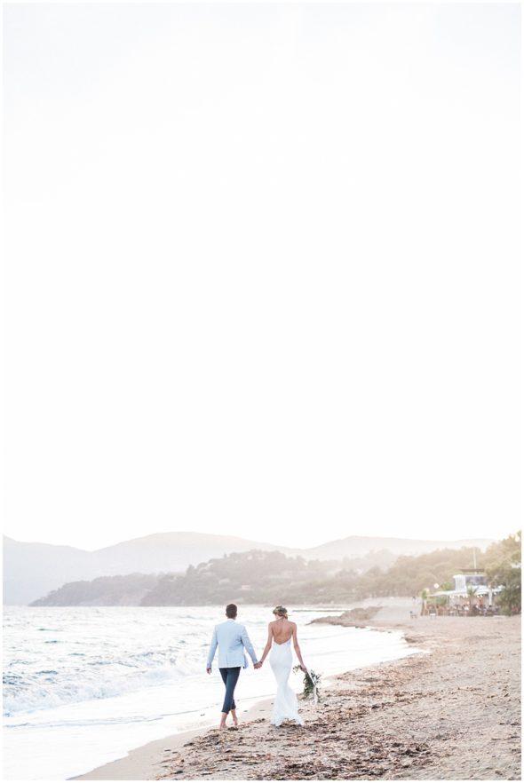 couple elopement french riviera provence saint tropez by Christophe Serrano destination wedding photographer