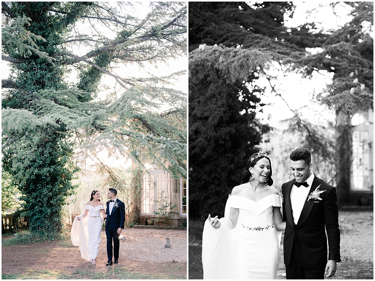 luxury coptic egyptian English wedding at Chateau robernier
